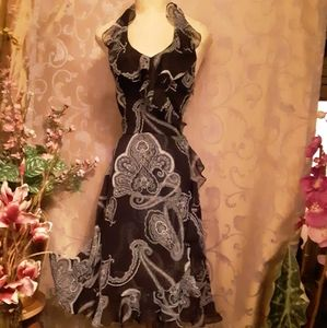 NWOT White House Black Market Sexy Halter Dress